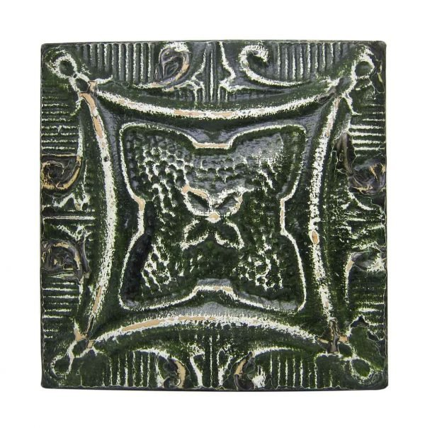 Moss Green 4 Leaf Tin Panel - Tin Panels