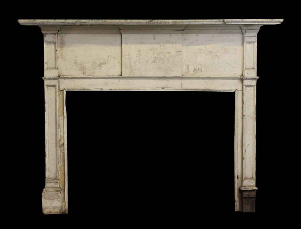 Classic Federal Mantel with Graduated Shelf - Mantels