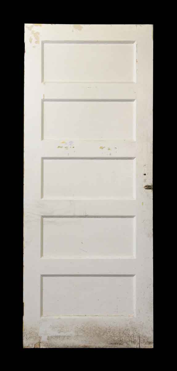 Five Horizontal Panel Wooden Door - Standard Doors
