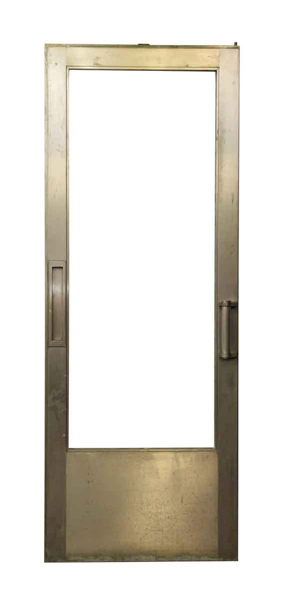 Metal Glass Door with Vertical Mail Slot - Entry Doors