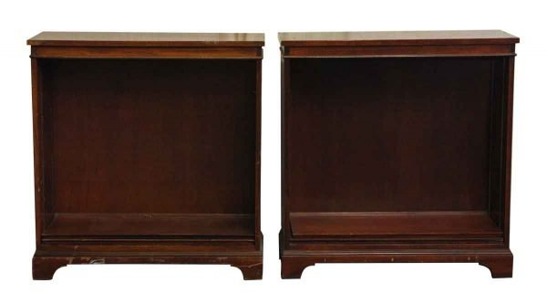 1959 Pair of Mahogany Color Book Cases - Bookcases