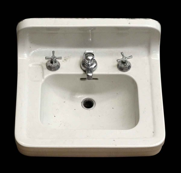 Vintage Bathroom Wall Mount Sink - Bathroom