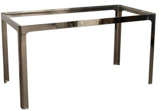 Modern Style Chrome Table Base