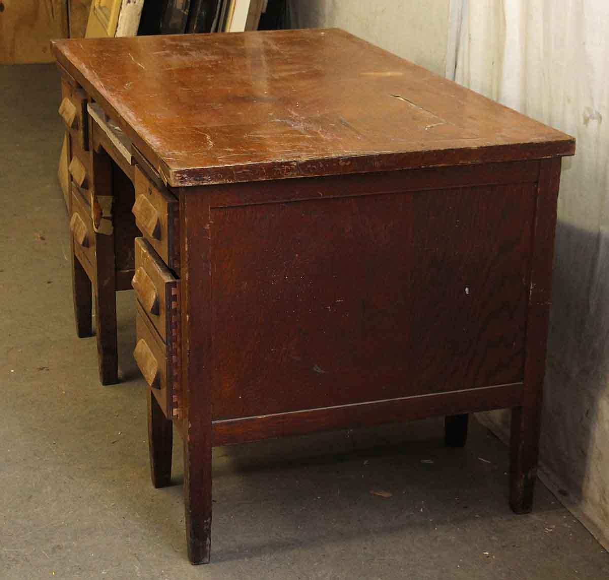 Solid Tiger Oak Teacher S Desk