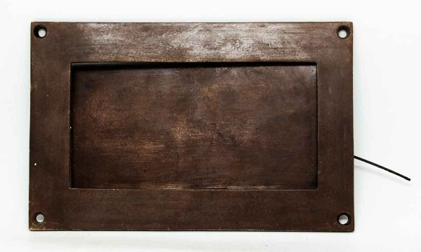 Large Bronze Mail Slot - Mail Hardware