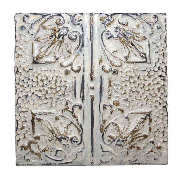 Four Fold Decorative Tin Panel - Tin Panels