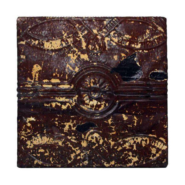 Brown Decorative Tin Panel - Tin Panels