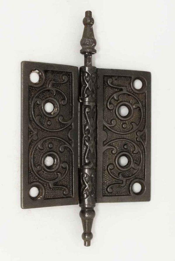 Cast Iron Steeple Tip Victorian Hinge - Door Hinges