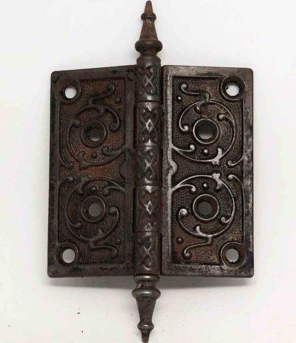 Cast Iron Victorian Steeple Door Hinge - Door Hinges