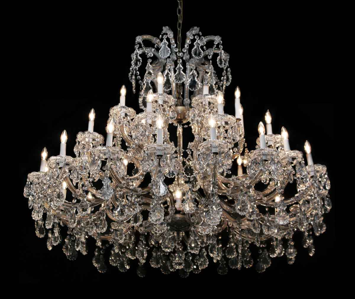 Extra Large 37 Light Marie Therese Chandelier - Chandeliers