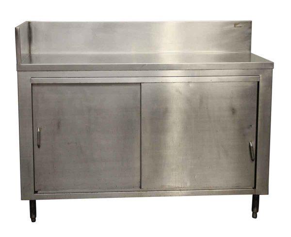 Stainless Steel Two Door Cabinet - Kitchen
