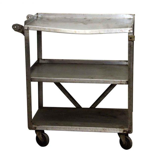 Reclaimed Steel Cart - Kitchen