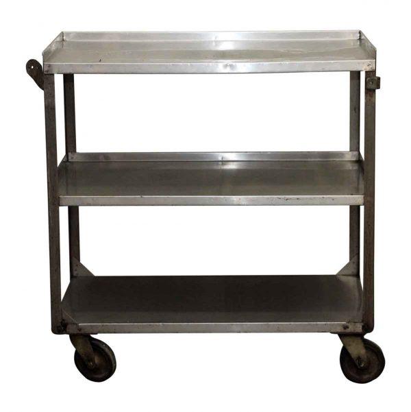 Three Tier Steel Rolling Cart - Kitchen