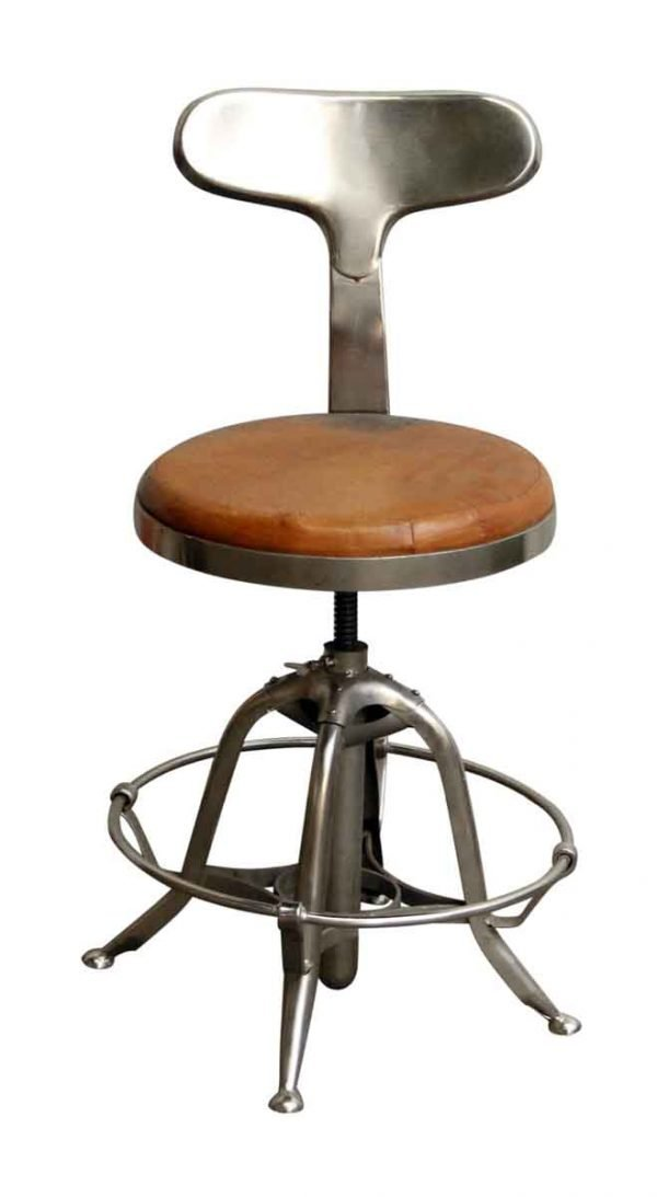 Industrial Adjustable Stool - Seating