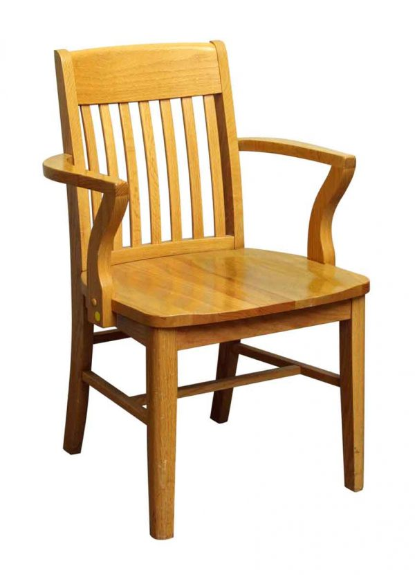 Single Light Wooden Chair - Office Furniture