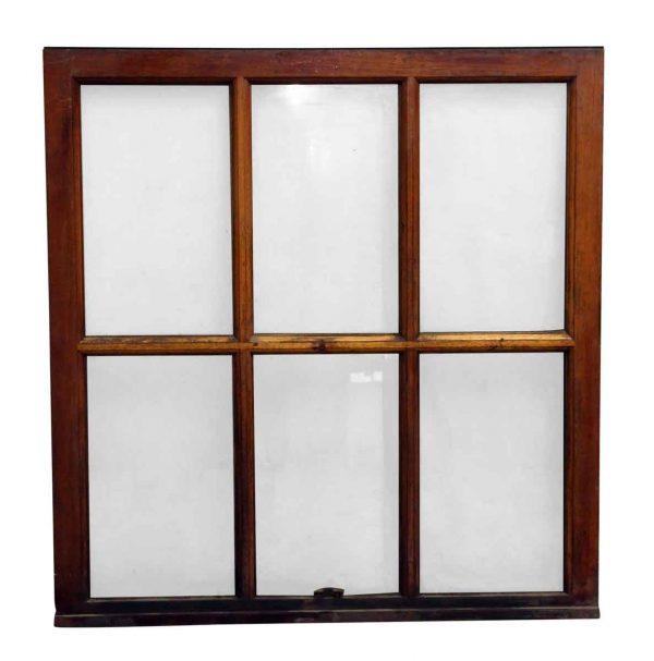 Wood Frame Six Pane Window - Reclaimed Windows