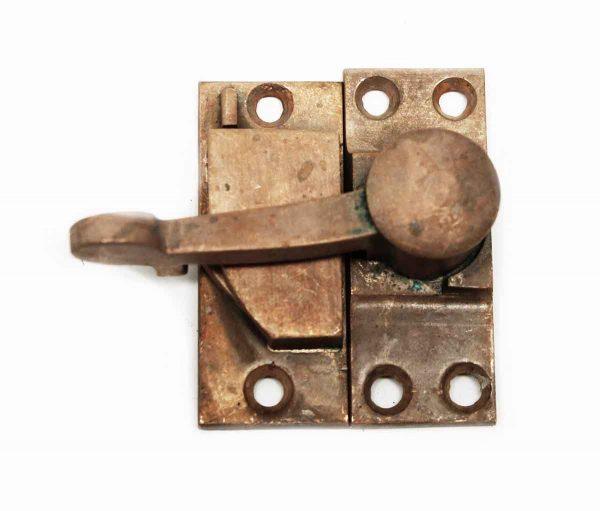 Antique Bronze Window Latch with Keeper - Window Hardware