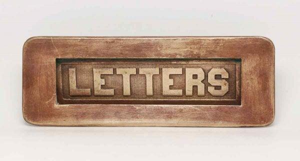 Brass Letter Slot - Mail Hardware