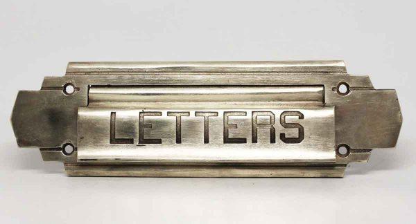 Art Deco Brass Letters Slot - Mail Hardware