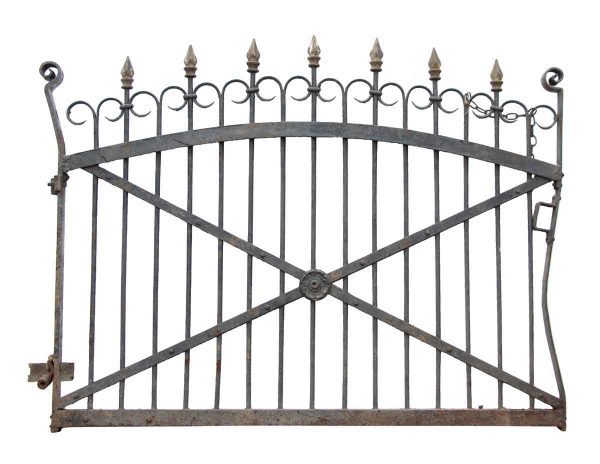 Set of Driveway Gates with Matching Garden Gate - Gates