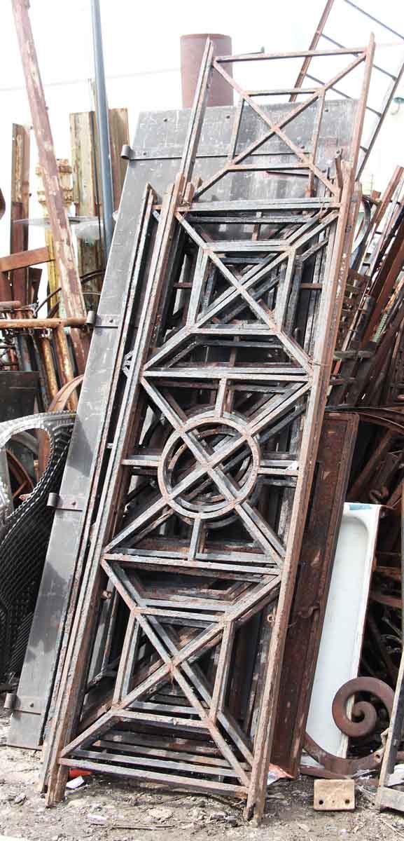 Cast Iron Beaux Arts Balcony Railing with Geometric Design ...