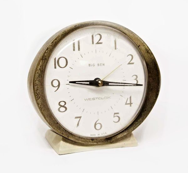 Westclox Big Ben Plastic and Brass Alarm Clock - Clocks