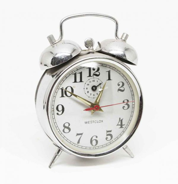 Westclox Metal Alarm Clock - Clocks