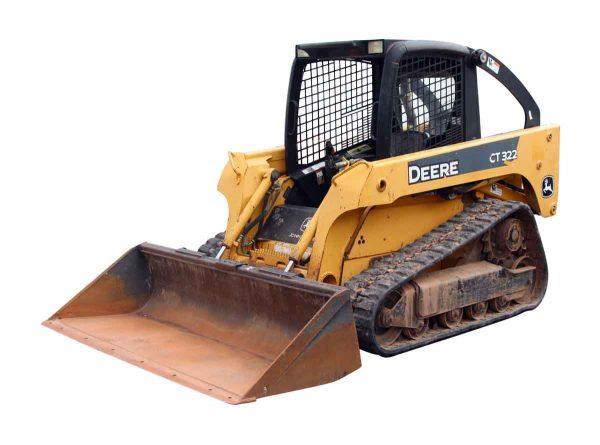 John Deere CT322 Track Steer - Machinery