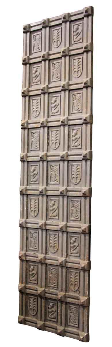 Cast Iron Decorative Door Panel - Decorative Metal