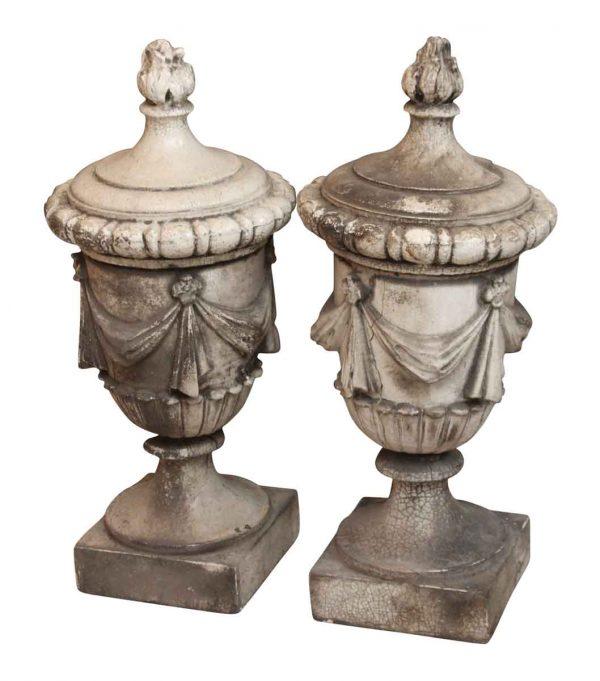 Pair of Terra Cotta Urns - Stone & Terra Cotta