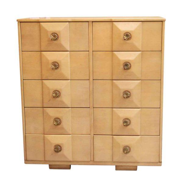 Mid Century Maple Dresser - Bedroom