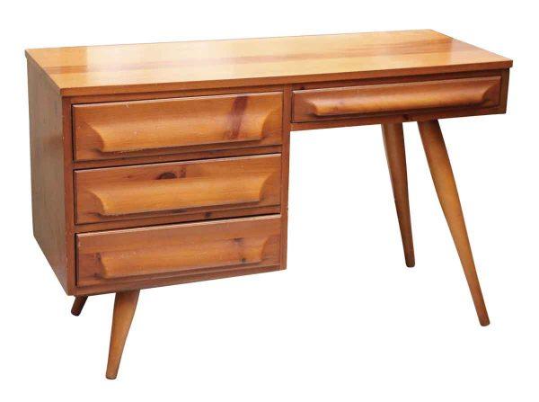 Sleek Mid Century Desk - Office Furniture