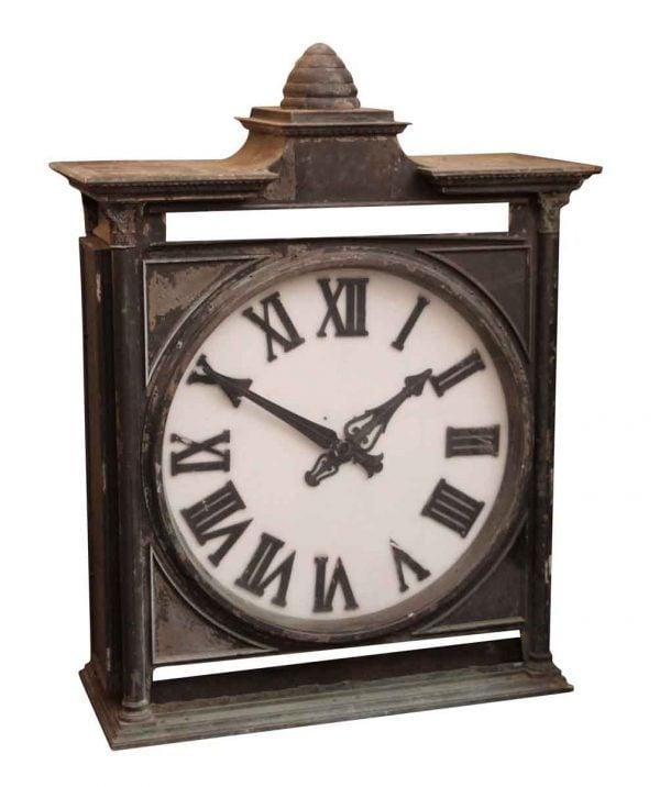 Bronze Brooklyn Bank Clock - Exterior Materials