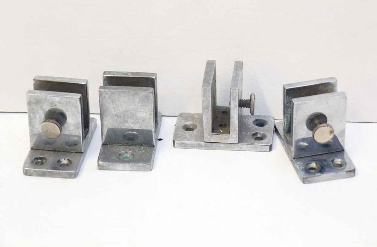 Mid Century Chrome Shelf Brackets from Europe - Shelf & Sign Brackets