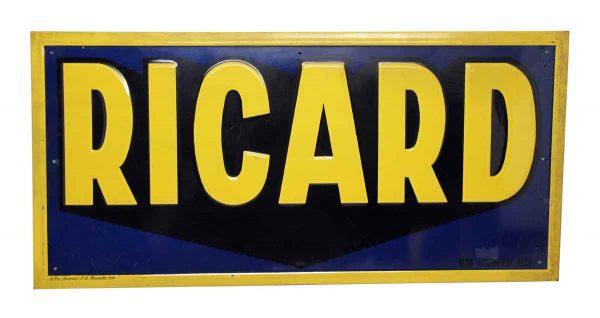 Pernod Ricard Sign - Vintage Signs
