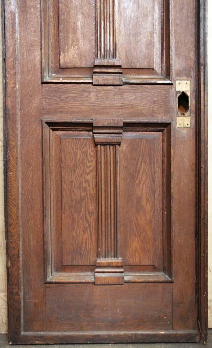 Tall Oak Amp Walnut Victorian Style Door Olde Good Things