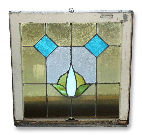 Salvaged Colorful Stained Glass Window - Stained Glass