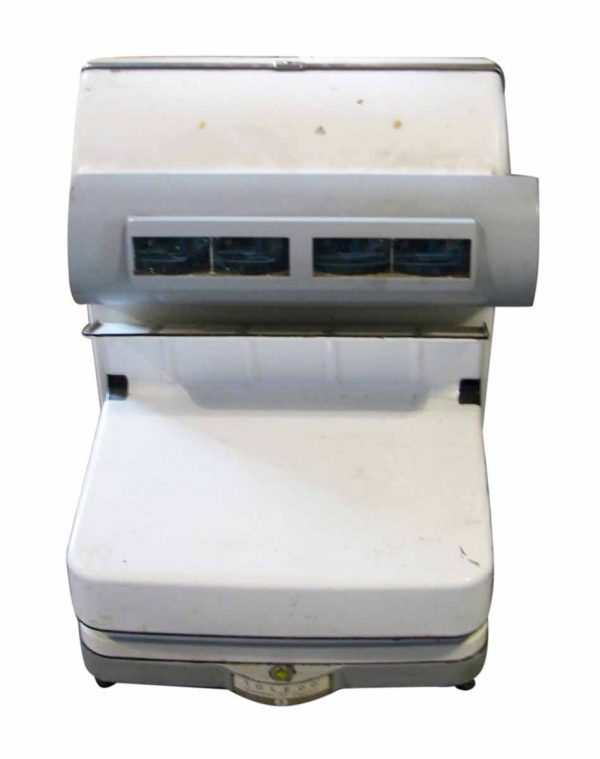 White Enamel Meat Packing Toledo Scale - Scales