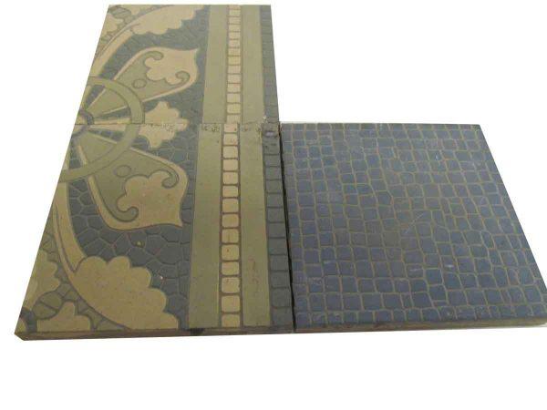 Villeroy & Boch Salvaged Encaustic Floor Tile - Floor Tiles