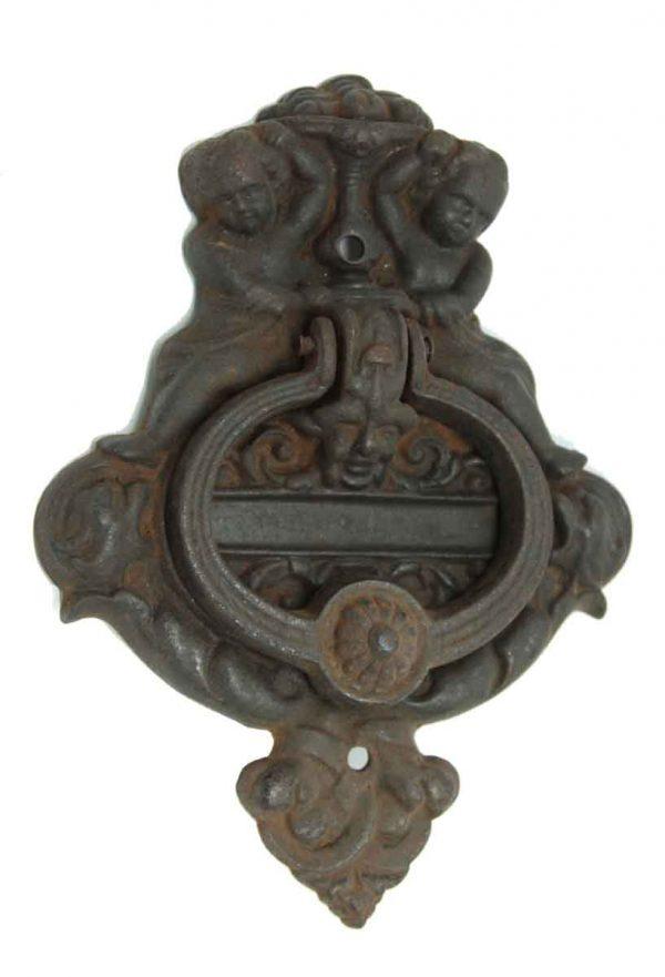 Cast Iron Figural Door Knocker - Knockers & Door Bells