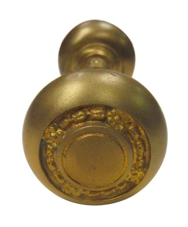 Concentric Floral Knob Set - Door Knobs