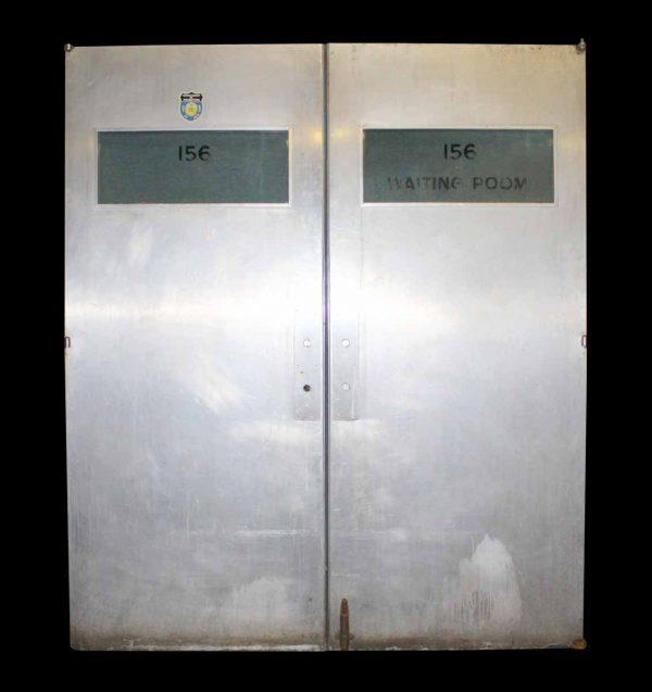 Stainless Steel Double New York Police Department Doors - Commercial Doors