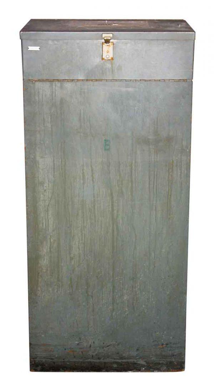 Industrial Metal Receptacle - Industrial