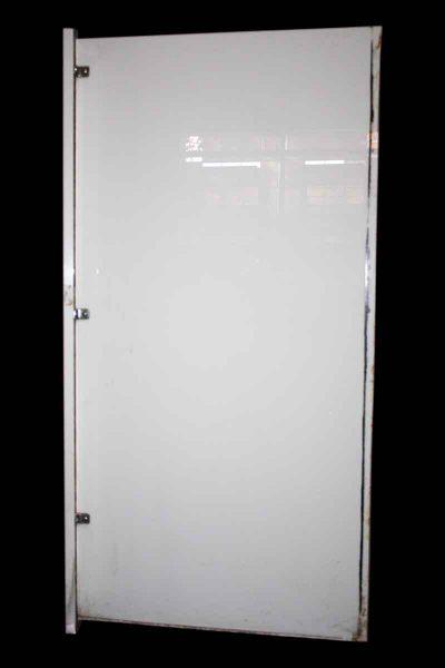 Large Slab of a Milk Glass Bathroom Stall Wall - Bathroom