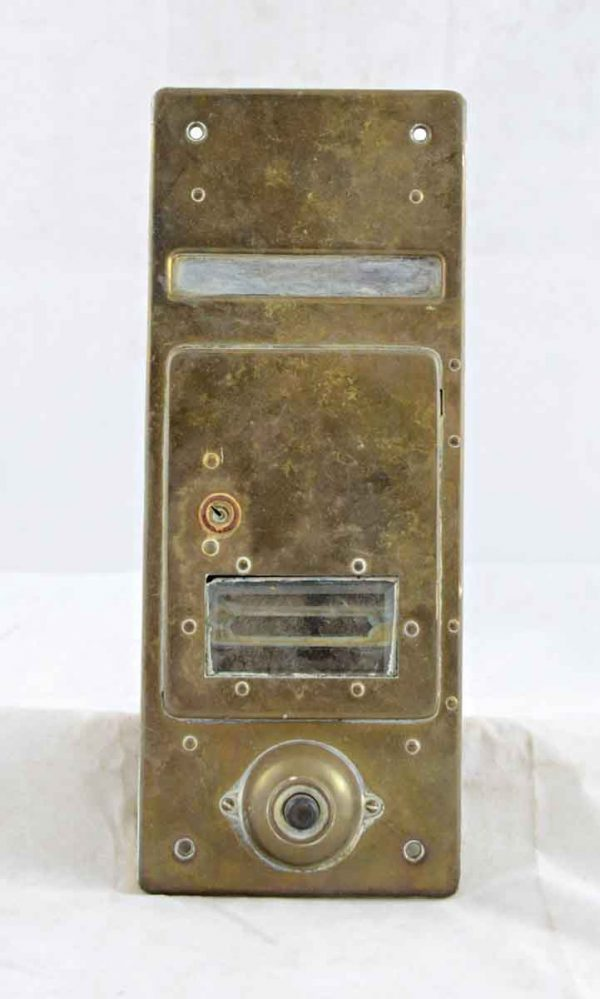 Brass Door Bell & Mail Box - Mail Hardware