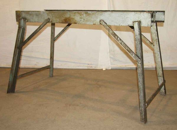 Simple Line Industrial Frame Table Base - Industrial