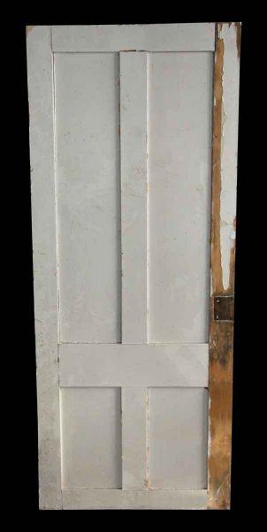 Original Antique Four Vertical Panel Door - Standard Doors
