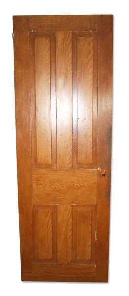 Antique Original Four Vertical Panel Door - Standard Doors