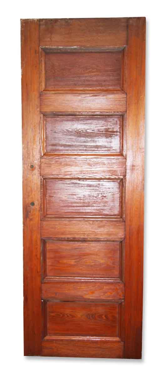 Original Solid Five Horizontal Panel Door - Standard Doors