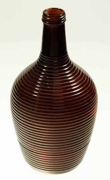 Burgundy Glass Vase - Vases & Urns